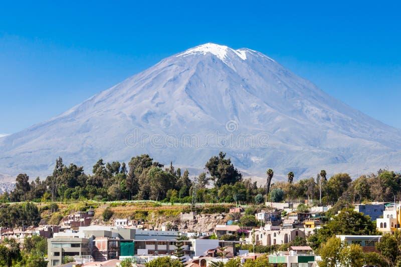 Вулкан Misti стоковые изображения