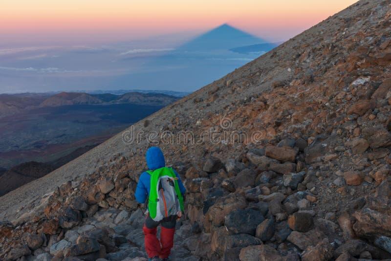 Вулкан Teide в Тенерифе, Испании стоковая фотография rf