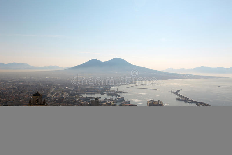 вулкан vesuvio стоковые фото