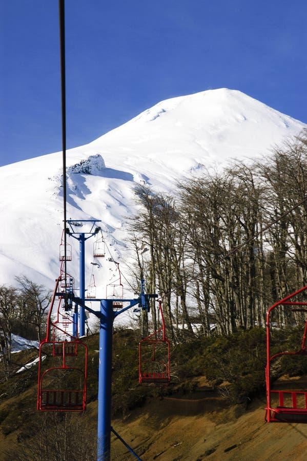 Вулкан Villarrica стоковые фотографии rf