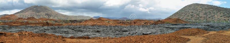 Download Вулканический ландшафт острова Сантьяго Стоковое Фото - изображение насчитывающей landmark, эквадор: 41658776
