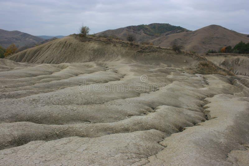 Вулканы грязи на Berca стоковая фотография rf