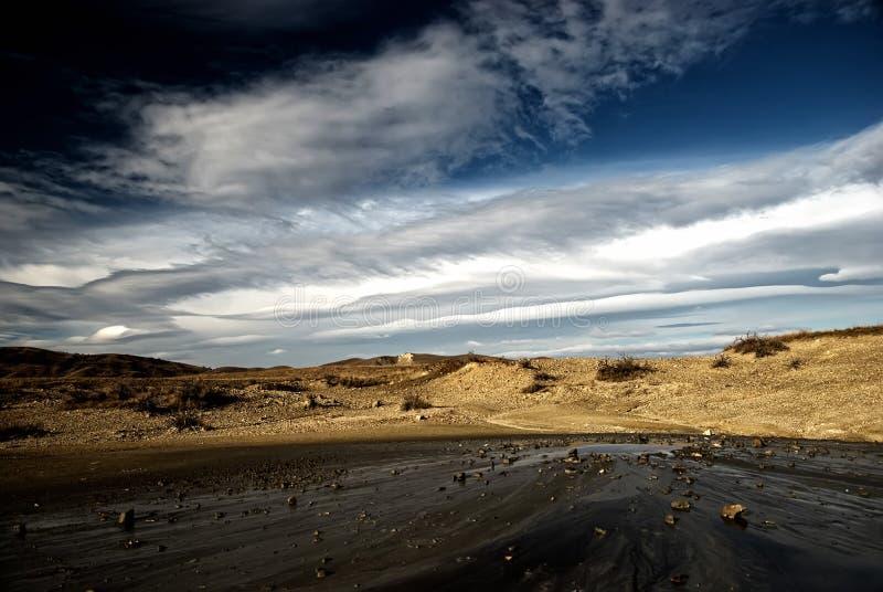 Вулканы грязи стоковые изображения rf