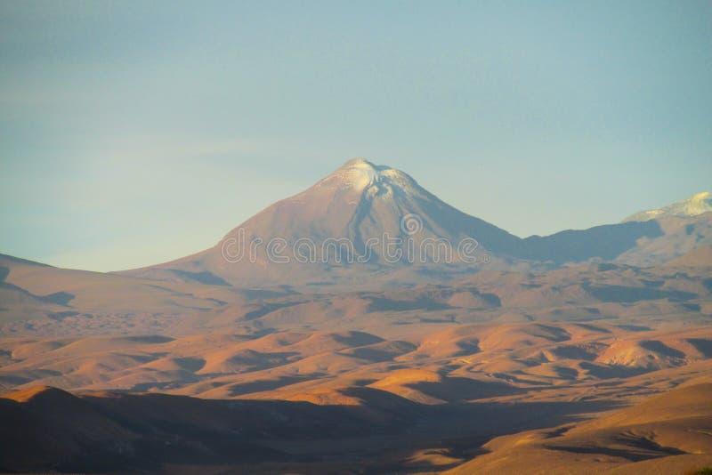 вулкан Чили стоковые изображения