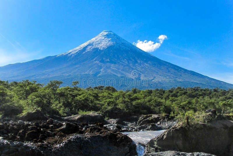 вулкан Чили стоковое фото rf