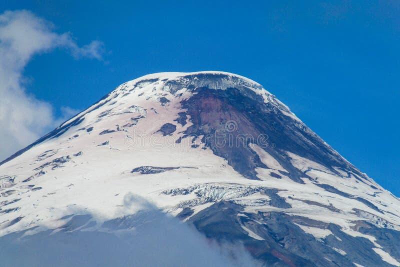 вулкан Чили стоковое фото