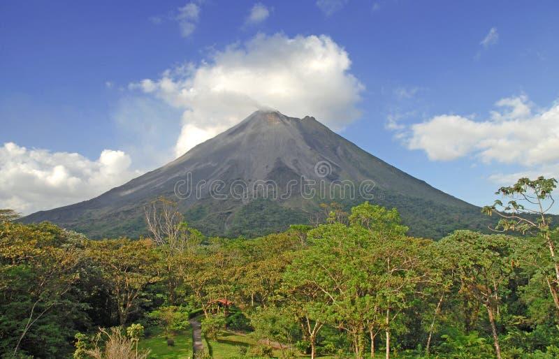 Вулкан Arenal, Коста-Рика стоковые изображения