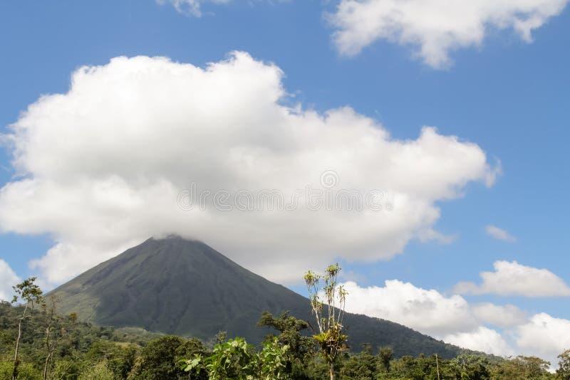 Вулкан Arenal, Коста-Рика стоковая фотография rf