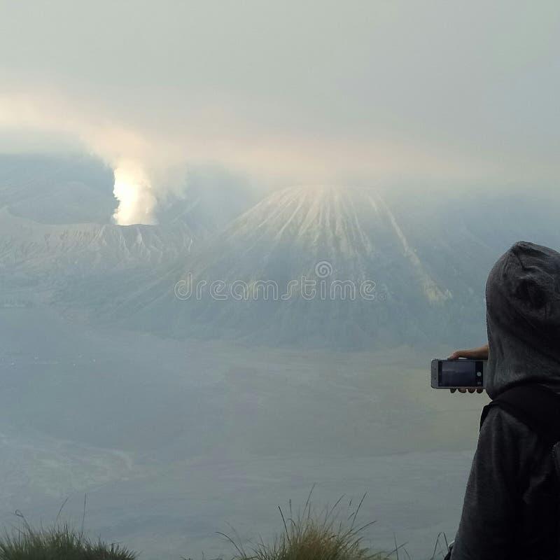 Вулкан Bromo стоковая фотография rf