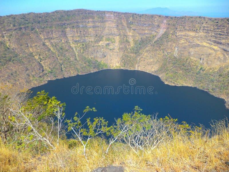 Вулкан Cosiguina Chinandega, Никарагуа стоковое фото rf