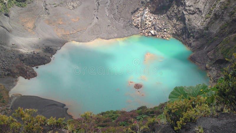 Вулкан Irazu стоковое изображение rf
