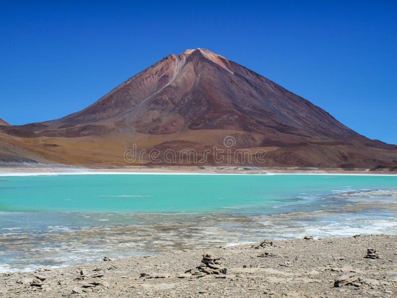 Вулкан Licancabur стоковые изображения