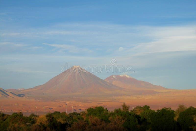 Вулкан Licancabur стоковое фото
