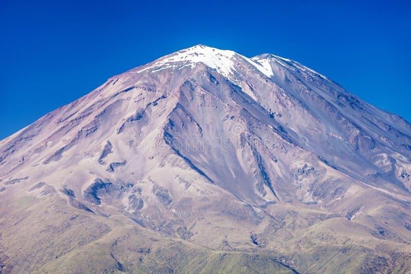 Вулкан Misti стоковые фото