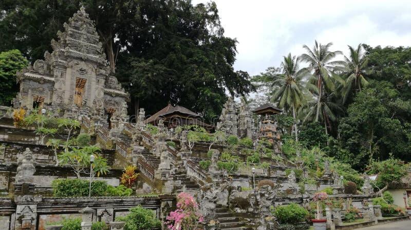 Вход виска Pura Kehen, индусский висок в Бали, Индонезии стоковая фотография