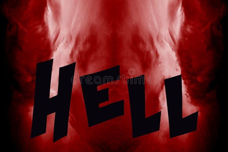 Вход внутри к аду стоковые фото