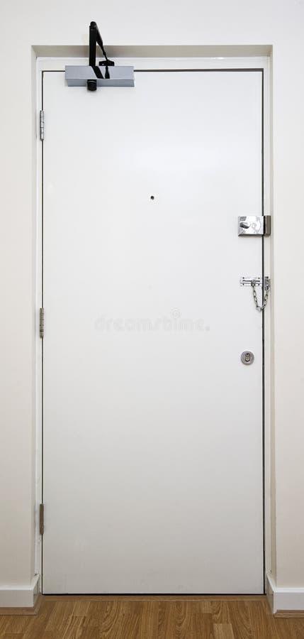 вход двери внутрь стоковое изображение rf