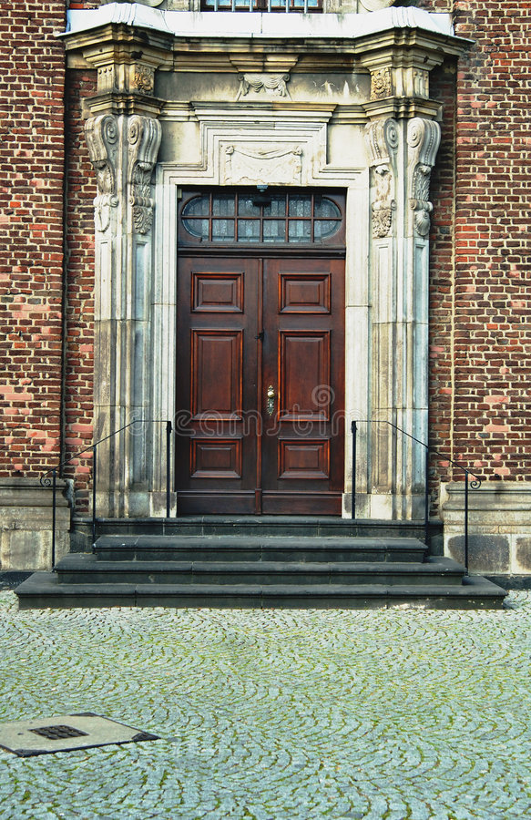 вход двери стоковое фото