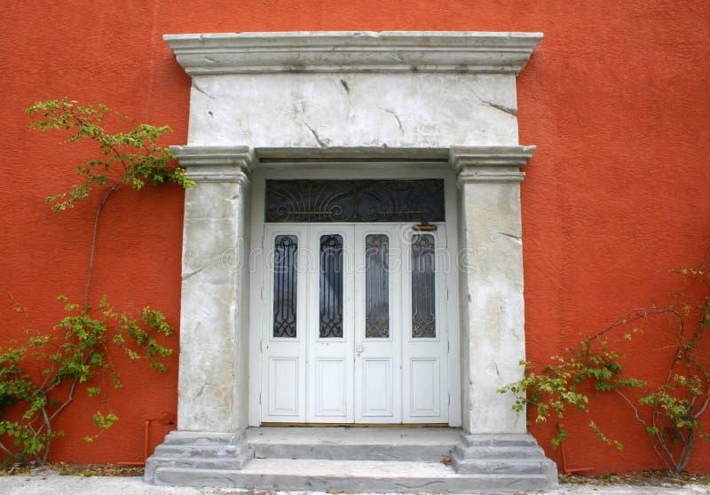 вход здания старый к Стоковая Фотография RF