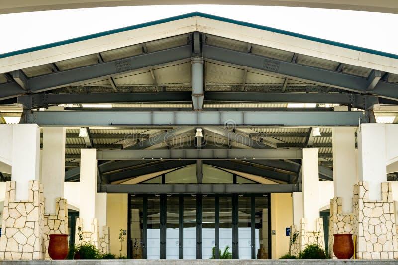 Вход к большому бальному залу в конференц-центре Montego Bay в Montego Bay, Ямайке стоковое фото