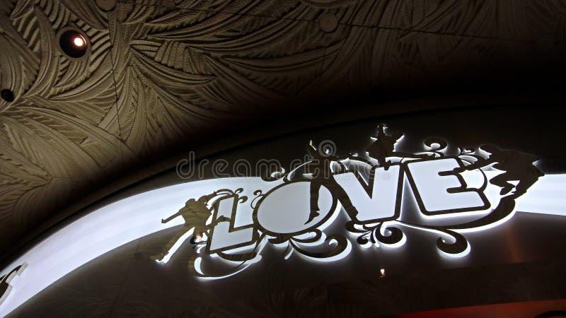 Вход к шоу любов Beatles Cirque du Soleil Театра стоковое фото