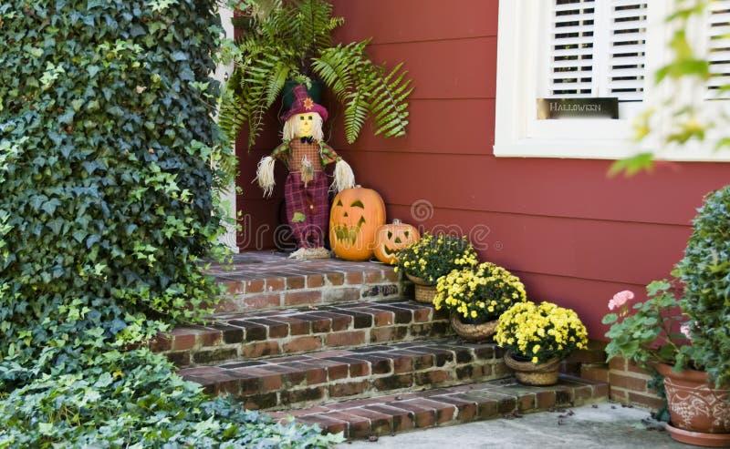 вход halloween стоковое изображение rf