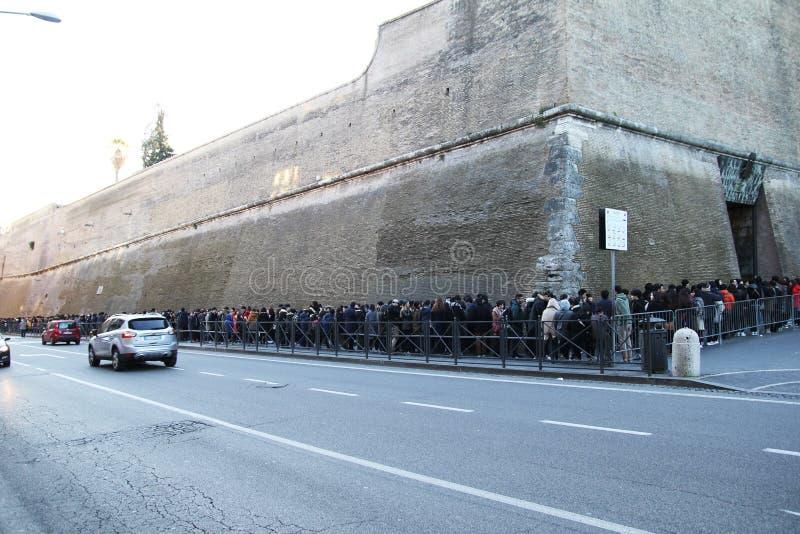 Вход музея Vaticans стоковые изображения