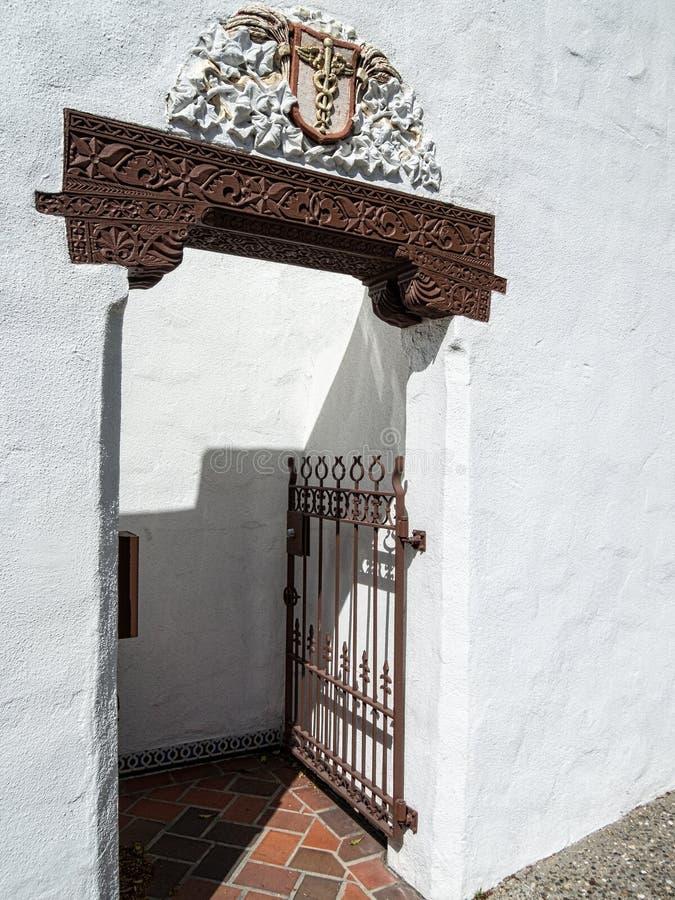 Вход стиля испанского языка стоковое фото