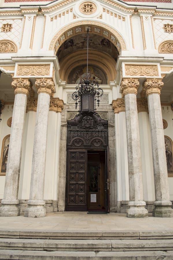 Вход церков стоковые изображения rf