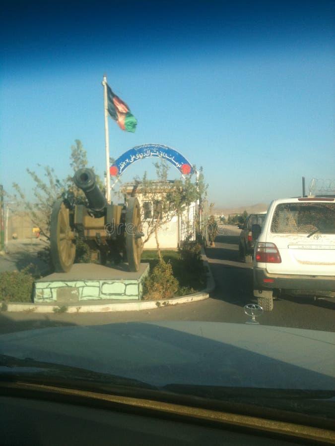 Входя в лагерь Zafar стоковое фото