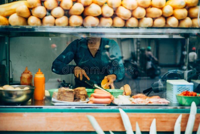 Въетнамская еда улицы стоковые изображения