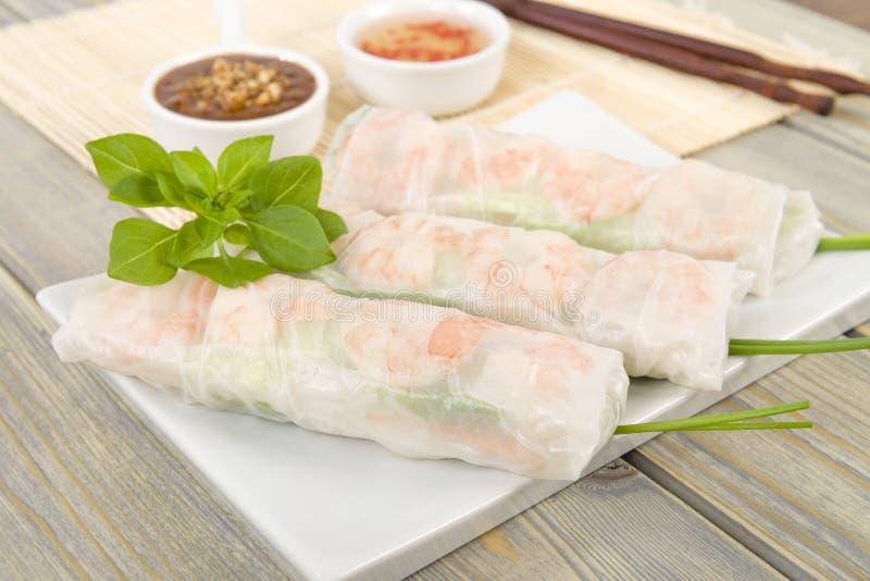 Въетнамская свежая весна Rolls стоковые фото