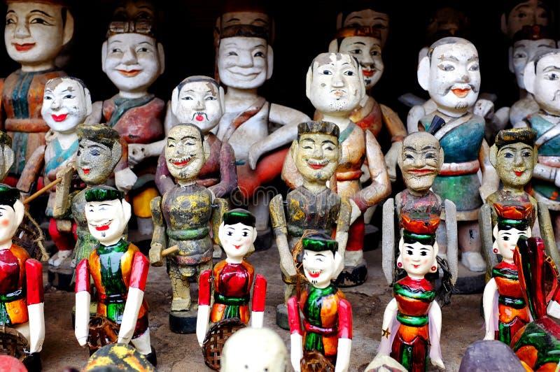Въетнамские марионетки воды стоковое фото