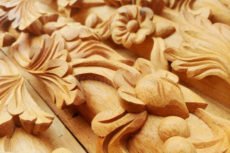 Въетнамские продукты гравировки древесины традиции стоковая фотография rf