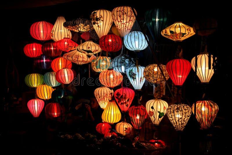 Въетнамский магазин фонариков стоковая фотография rf