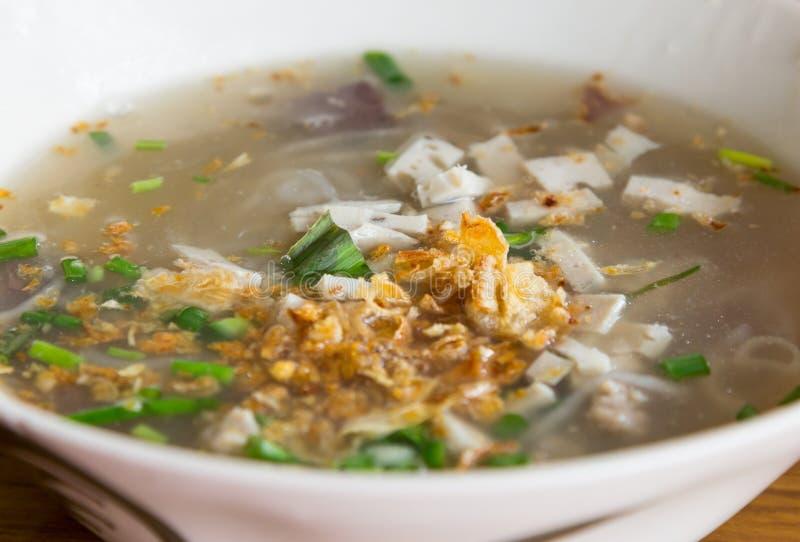 Въетнамский стиль лапши еды стоковая фотография rf