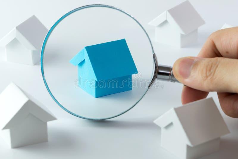 Выбирать правый дом стоковое фото rf