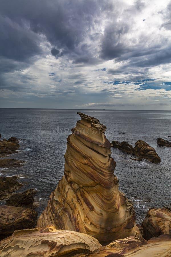Выветренный блеф песчаника стоковое фото