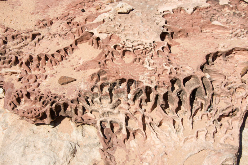 выветренный песчаник стоковое изображение