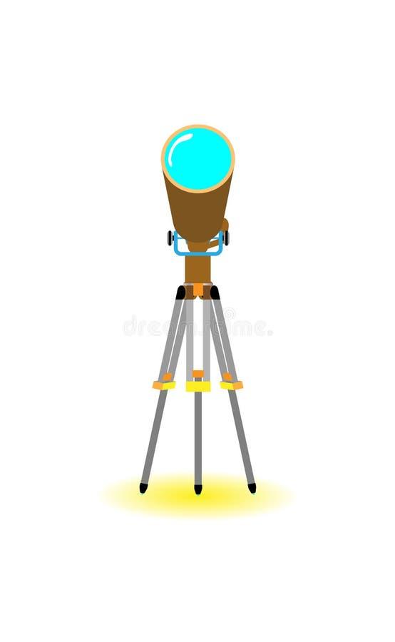 Выдвиньте плоско с желтой тенью в белой предпосылке, eps10 бесплатная иллюстрация