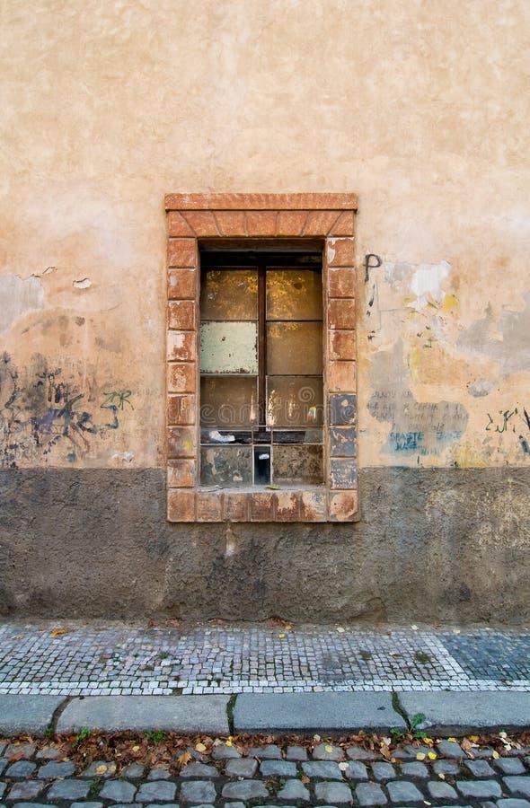 выдержанная улица детали стоковое фото