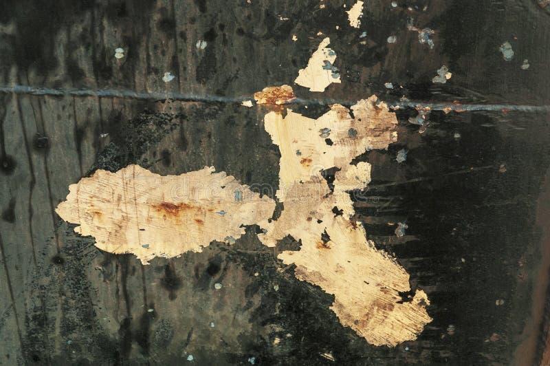 Выдержанный корпус достигшего возраста рыболовецкого судна стоковое изображение