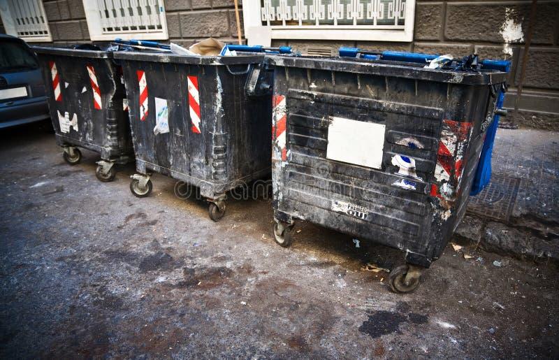 выжимк ящиков пакостная стоковое фото rf