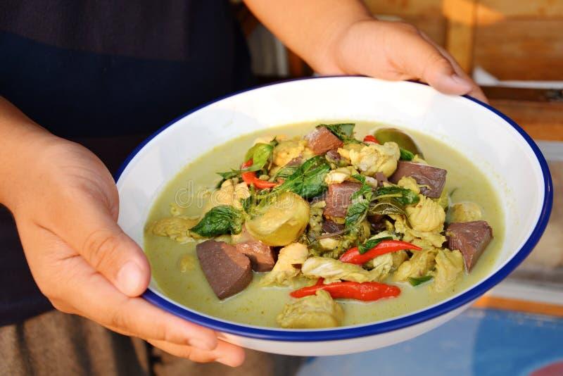 Вызванная Тайская кухня стоковая фотография rf