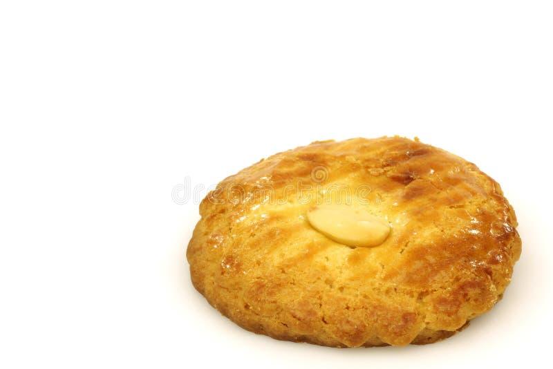 вызванное печенье голландское koek gevulde традиционное стоковая фотография rf