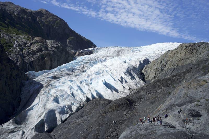 Выйдите ледник Аляска стоковая фотография rf