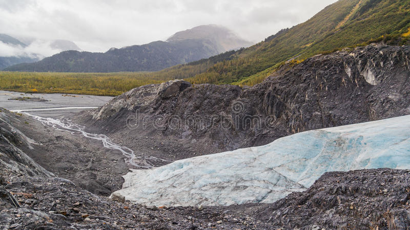 выйдите ледник стоковые изображения