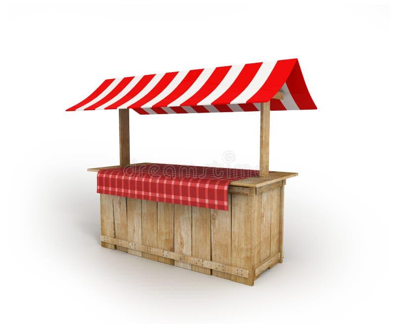 Выйдите стойл вышед на рынок на рынок деревенское - страна партии - Festa Junina бесплатная иллюстрация