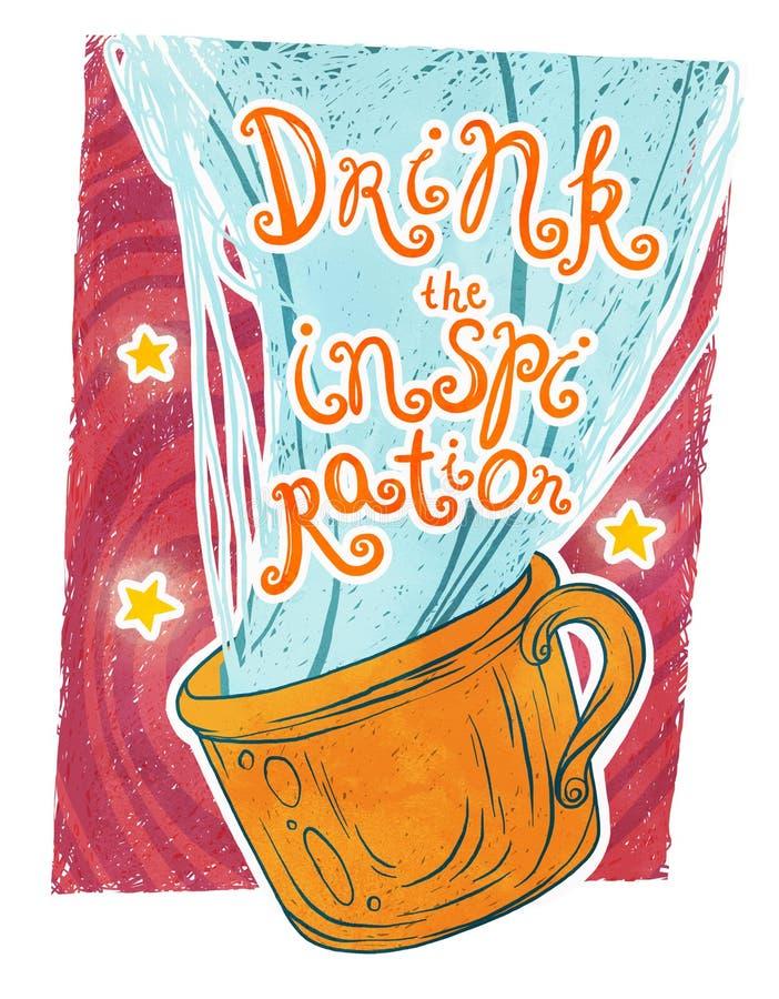 Выпейте воодушевленность! стоковые изображения