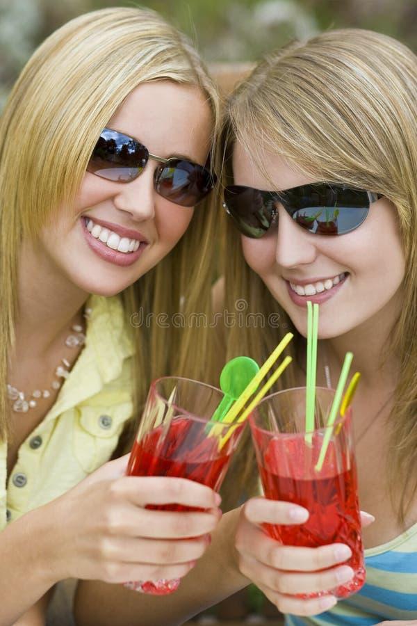 Download выпивает лето стоковое изображение. изображение насчитывающей подруги - 6869451
